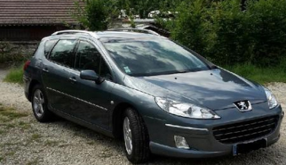 Peugeot 407 Space Wagon 1.6 HDI Blue Lion 2009