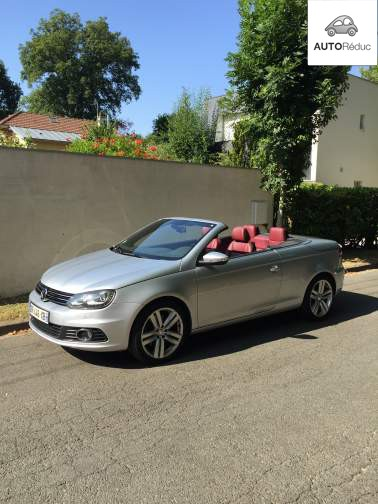 achat volkswagen eos 2 0 tdi 140 bluemotion technology carat d 39 occasion pas cher 19 000. Black Bedroom Furniture Sets. Home Design Ideas