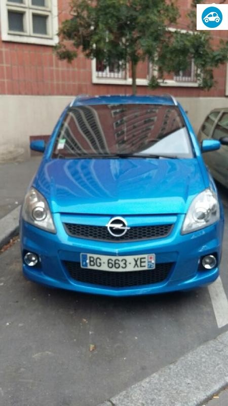 achat opel zafira opc 2 0 l 2006 d 39 occasion pas cher 10 500. Black Bedroom Furniture Sets. Home Design Ideas