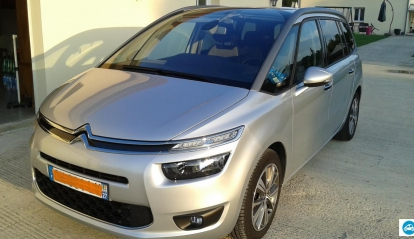 Citroën C4 Grand Picasso 2.0 L HDI Intensive blue 2013