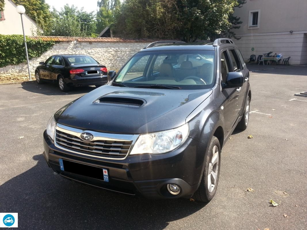 achat subaru forester 2 0 l xs club 2009 d 39 occasion pas cher 12 400. Black Bedroom Furniture Sets. Home Design Ideas