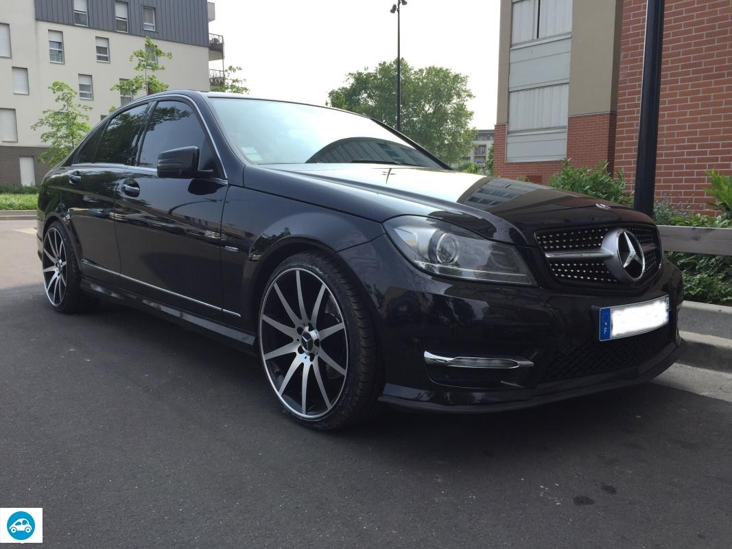 achat mercedes c220 pack amg blueefficiency avantgarde 2012 d 39 occasion pas cher 19 500. Black Bedroom Furniture Sets. Home Design Ideas