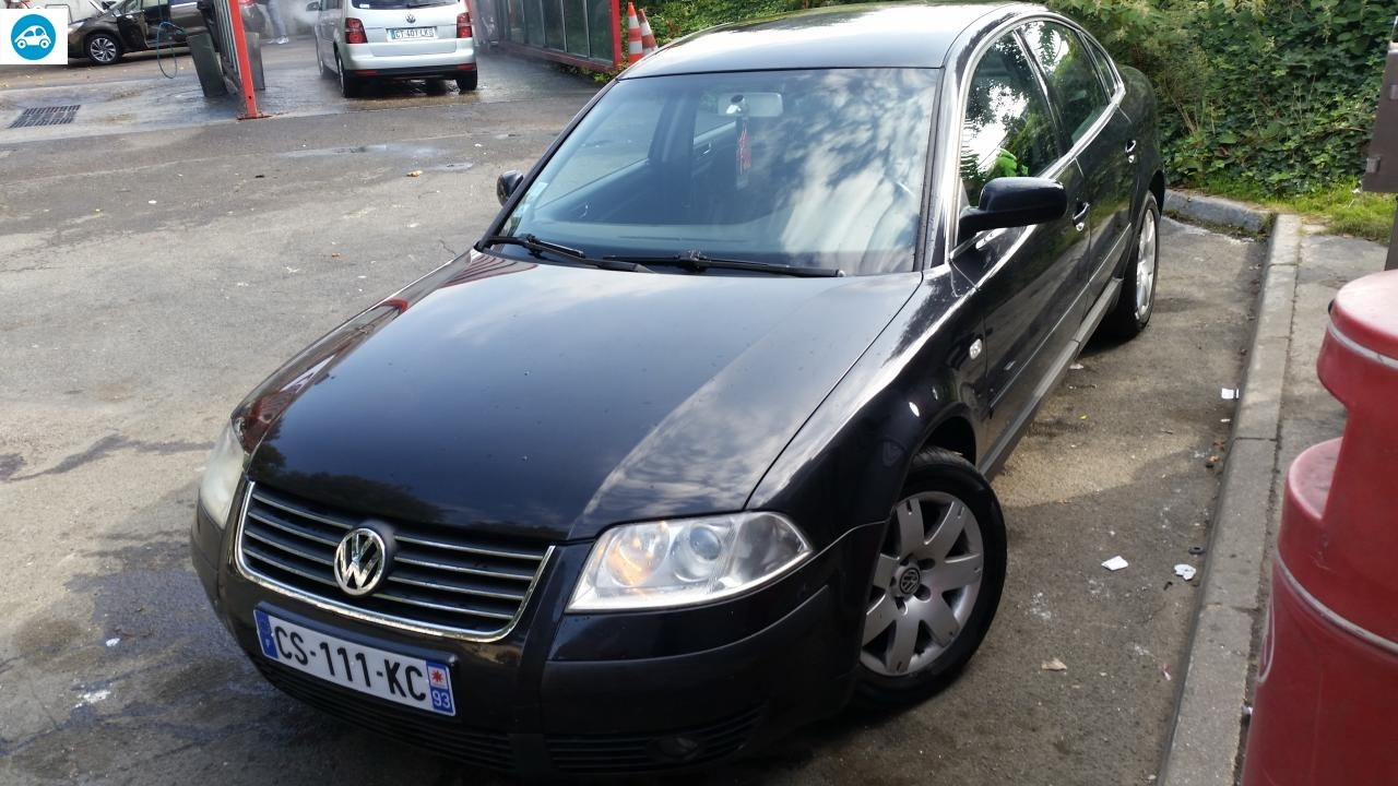 achat volkswagen passat 1 9 tdi 2003 d 39 occasion pas cher 3 600. Black Bedroom Furniture Sets. Home Design Ideas