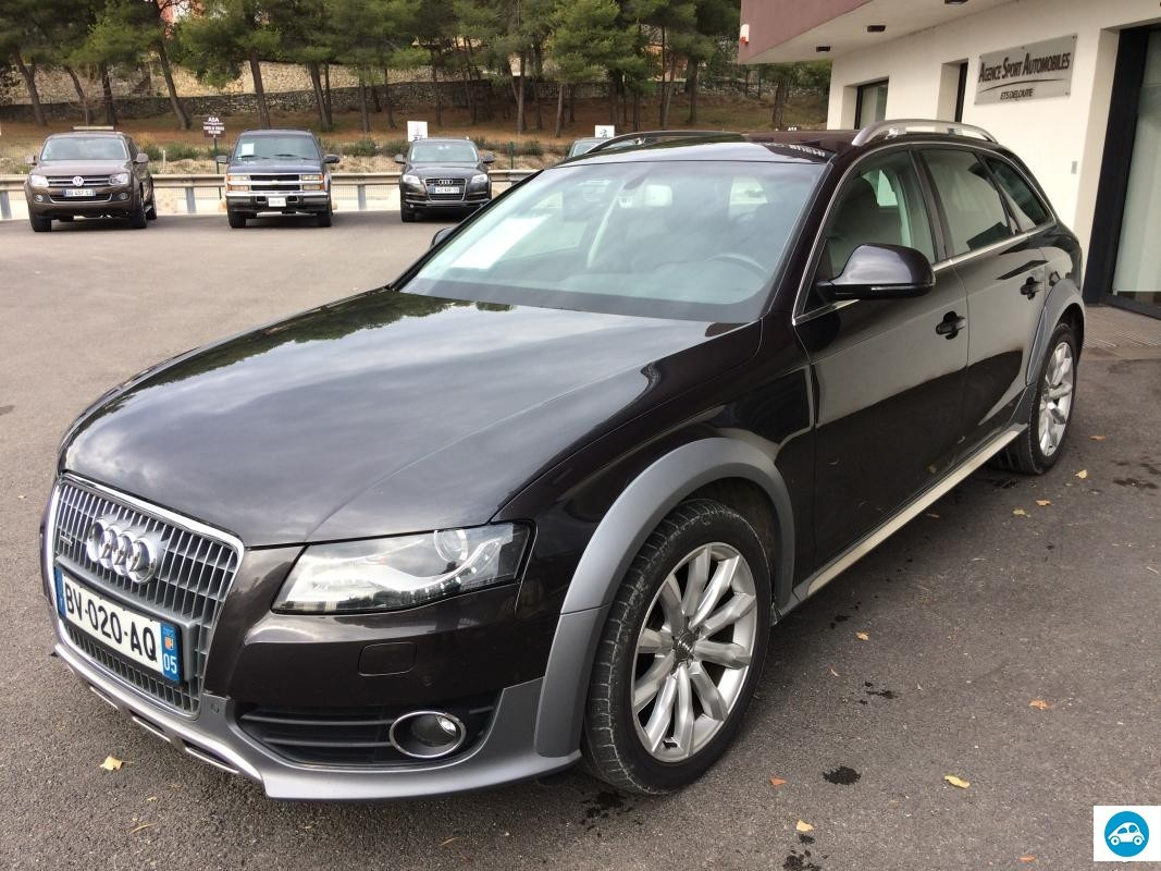 achat audi a4 allroad 3 0 tdi ambition luxe 2009 d 39 occasion pas cher 17 900. Black Bedroom Furniture Sets. Home Design Ideas