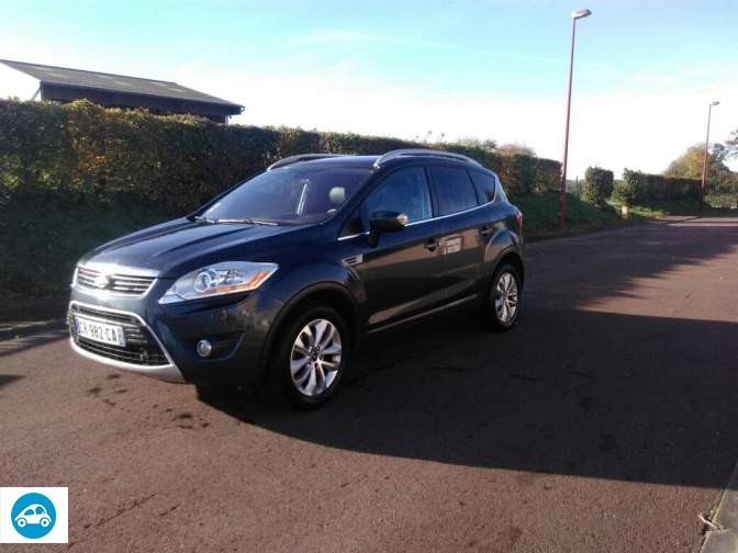 achat ford kuga titanium 2008 d 39 occasion pas cher 10 800. Black Bedroom Furniture Sets. Home Design Ideas