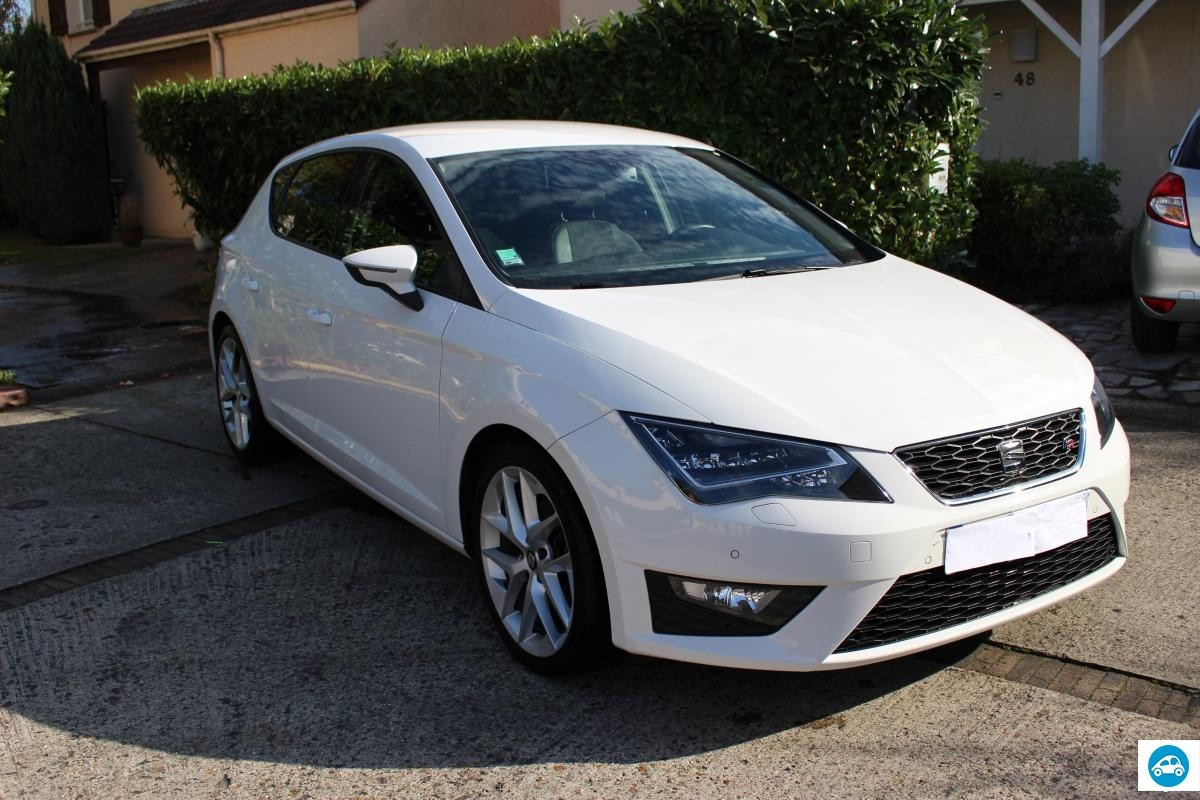 achat seat leon 2 0 tdi fr sport 2013 d 39 occasion pas cher 18 000. Black Bedroom Furniture Sets. Home Design Ideas