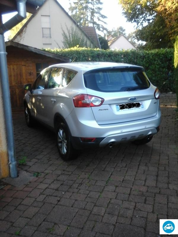 achat ford kuga 2 0 tdci titanium 2008 d 39 occasion pas cher 10 300. Black Bedroom Furniture Sets. Home Design Ideas