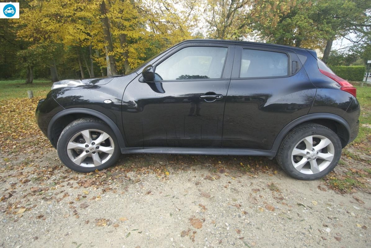 achat nissan juke acenta 2012 d 39 occasion pas cher 11 700. Black Bedroom Furniture Sets. Home Design Ideas