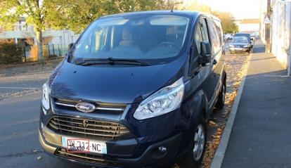 Ford Transit Custom Fourgon 2.2 TDCI 2015
