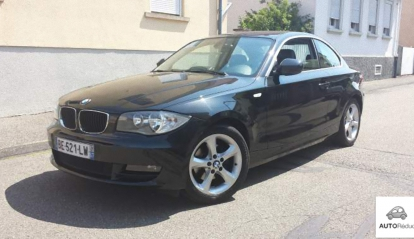 BMW SERIE 1 coupé 120 D pack luxe + GPS