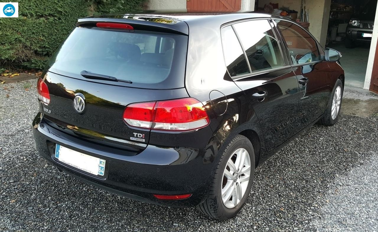 achat volkswagen golf vi 1 6 tdi bluemotion 2012 d 39 occasion pas cher 14 500. Black Bedroom Furniture Sets. Home Design Ideas