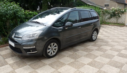 Citroen Grand C4 Picasso Exclusive 2012