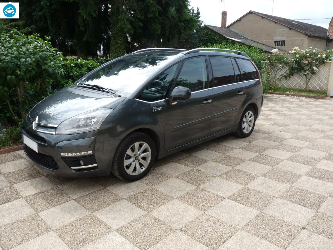 achat citroen grand c4 picasso exclusive 2012 d 39 occasion pas cher 12 500. Black Bedroom Furniture Sets. Home Design Ideas