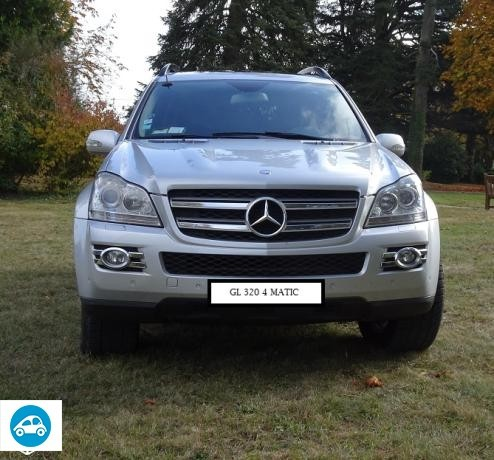 achat mercedes classe gl 320 cdi pack luxury 2007 d 39 occasion pas cher 19 500. Black Bedroom Furniture Sets. Home Design Ideas