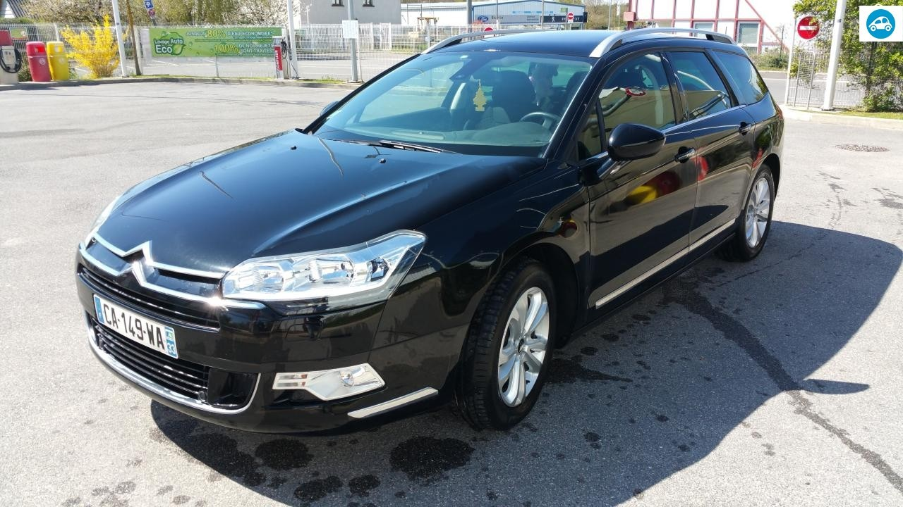 achat citroen c5 phase 2 2 l break tourer 2012 d 39 occasion pas cher 9 500. Black Bedroom Furniture Sets. Home Design Ideas