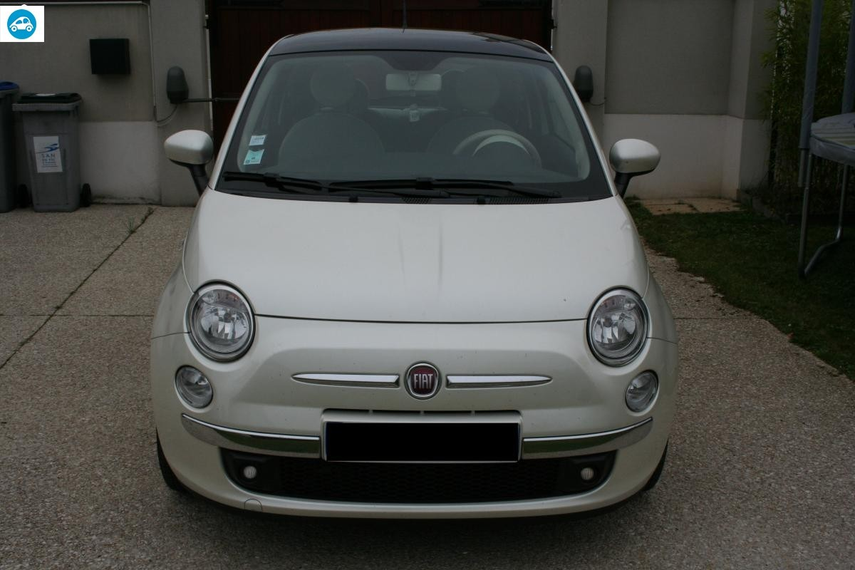 achat fiat 500 lounge 0 9 l twinair 2012 d 39 occasion pas cher 8 600. Black Bedroom Furniture Sets. Home Design Ideas