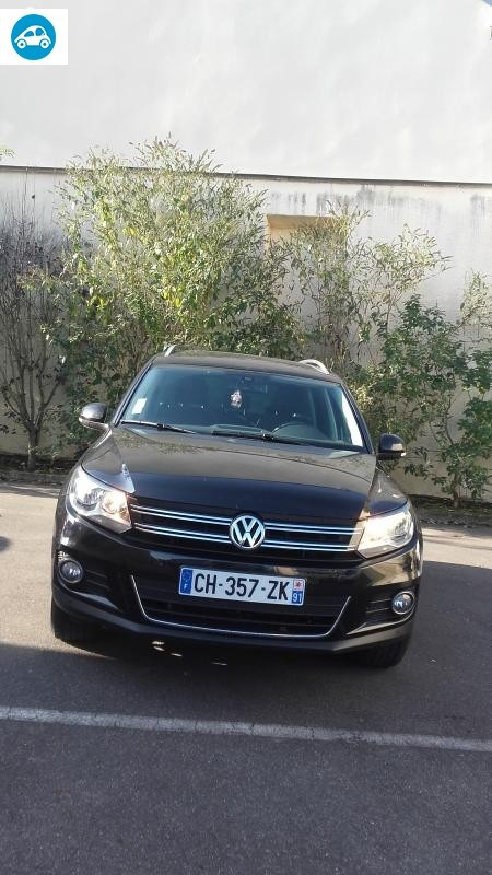 achat volkswagen tiguan 4x4 2 0 l 2012 d 39 occasion pas cher 15 000. Black Bedroom Furniture Sets. Home Design Ideas