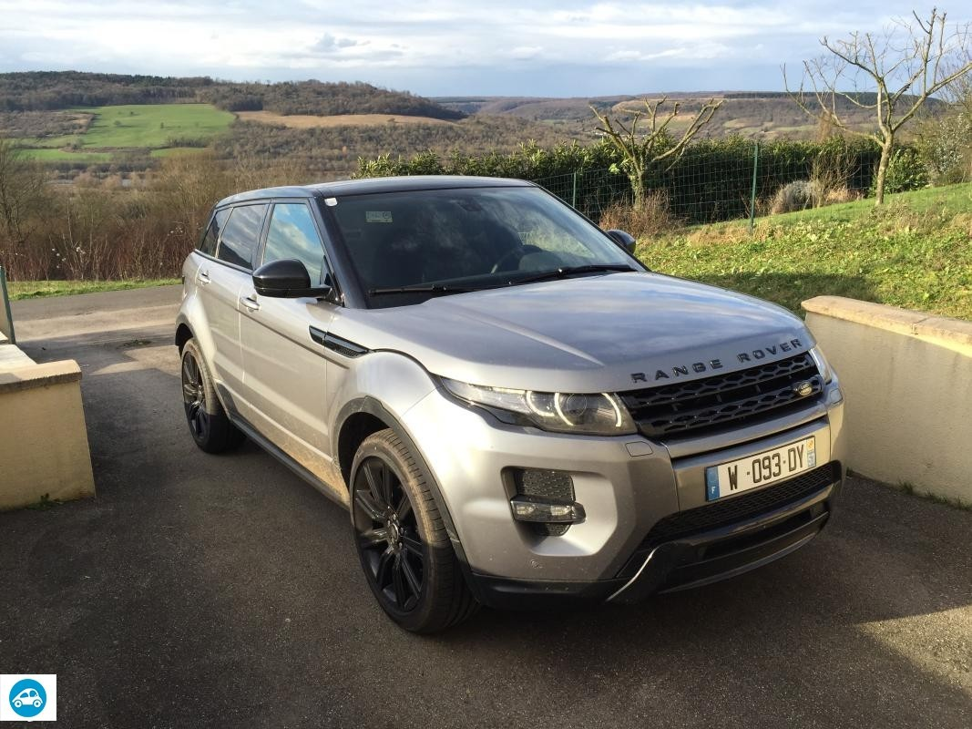 Land Rover Evoque SD 4 2014