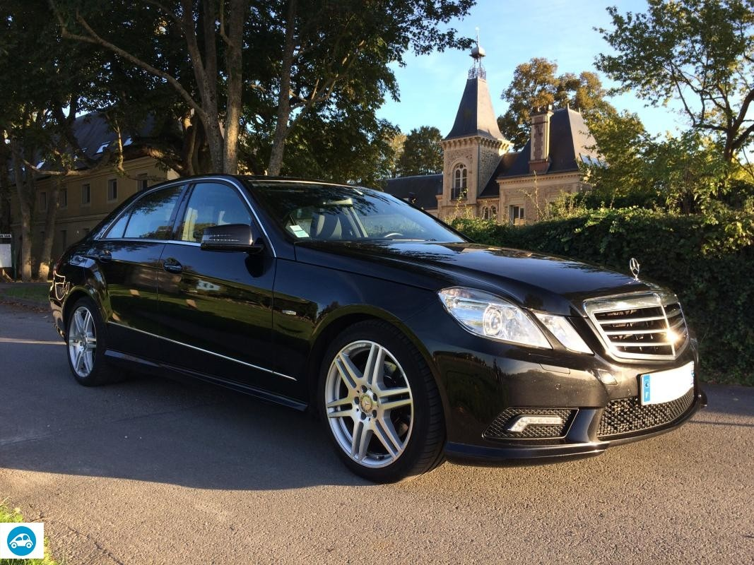 achat mercedes classe e 350 cdi pack amg 2009 d 39 occasion. Black Bedroom Furniture Sets. Home Design Ideas