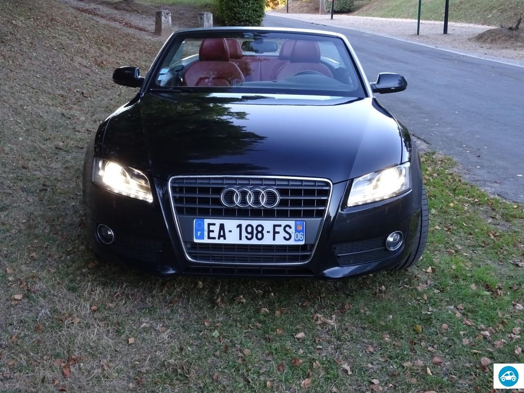 achat audi a5 cabriolet 2 0 tfsi ambition luxe 2009 d. Black Bedroom Furniture Sets. Home Design Ideas