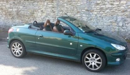 Peugeot 206 CC Roland Garros 2002