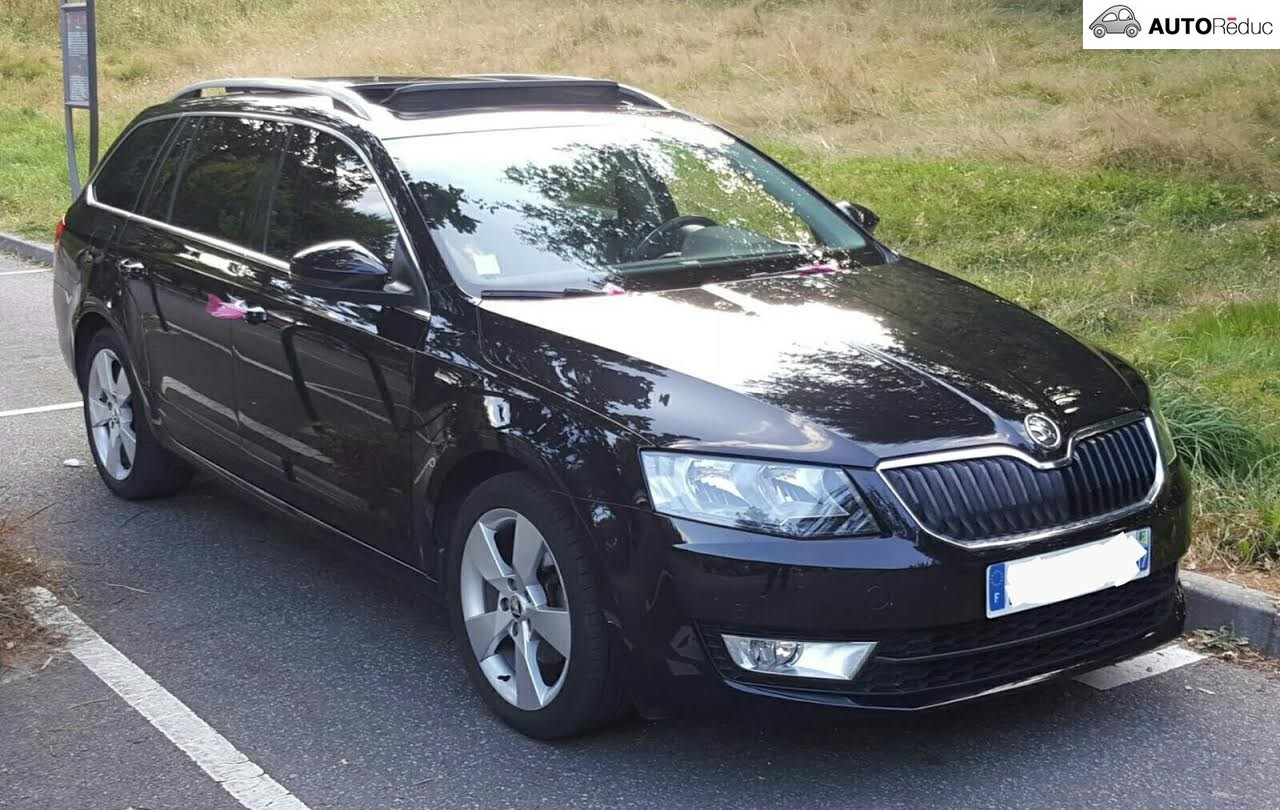 achat skoda octavia sw 2014 d 39 occasion pas cher 21 000. Black Bedroom Furniture Sets. Home Design Ideas