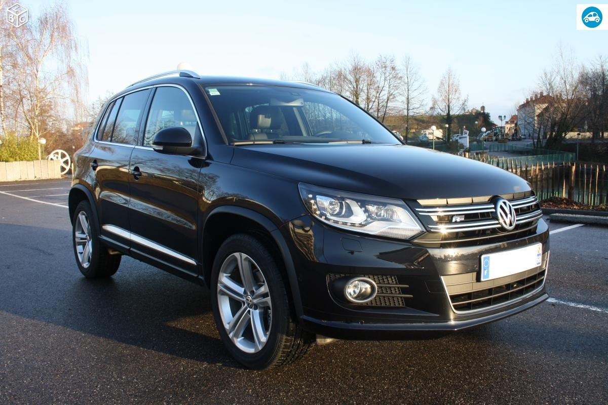 achat volkswagen tiguan bluemotion 2014 d 39 occasion pas cher 24 300. Black Bedroom Furniture Sets. Home Design Ideas