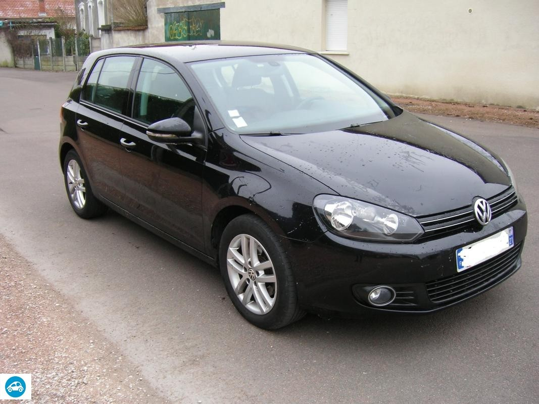 achat volkswagen golf vi tdi confortline 2011 d 39 occasion. Black Bedroom Furniture Sets. Home Design Ideas