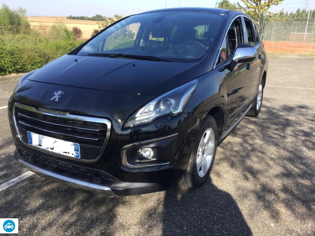 achat peugeot 3008 2 0 hdi allure 2016 d 39 occasion pas cher 19 500. Black Bedroom Furniture Sets. Home Design Ideas