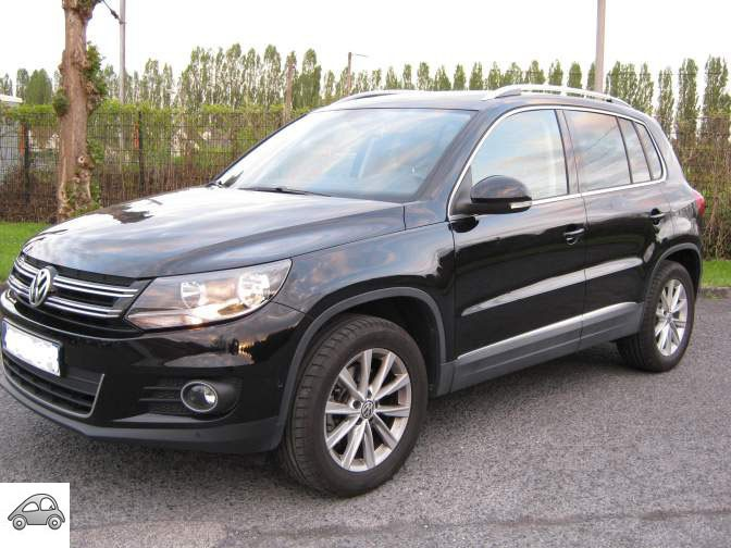 achat volkswagen tiguan 2 0 tdi 140ch d 39 occasion pas cher. Black Bedroom Furniture Sets. Home Design Ideas