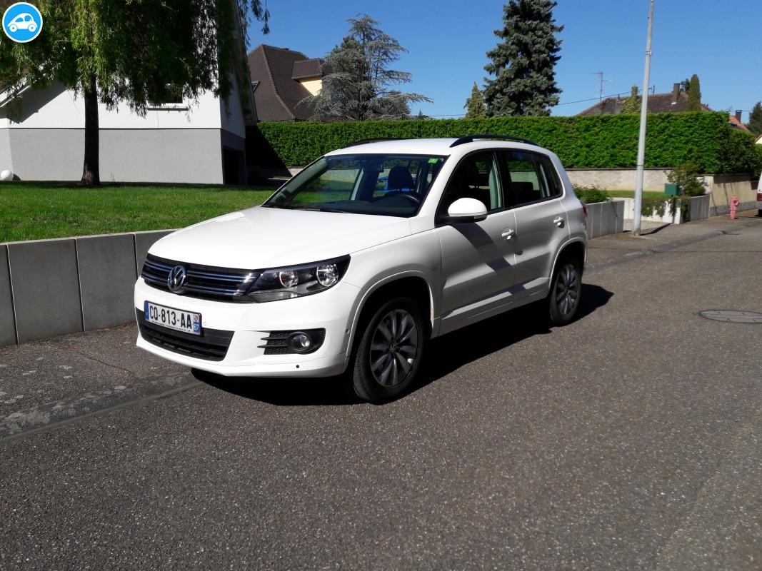 achat volkswagen tiguan tdi bluemotion 2013 d 39 occasion pas cher 18 000. Black Bedroom Furniture Sets. Home Design Ideas