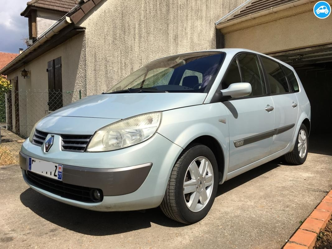 Renault Scenic II 1.9 DCI Phase 1 2004