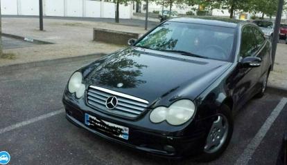 Mercedes Couper Sport 2001