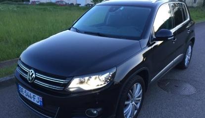 Volkswagen Tiguan II 2.0 TDI BlueMotion Carat 2014