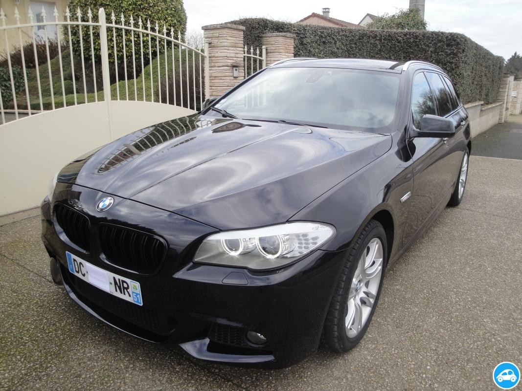 achat bmw serie 5 530da touring pack m 2012 d 39 occasion pas cher 29 300. Black Bedroom Furniture Sets. Home Design Ideas