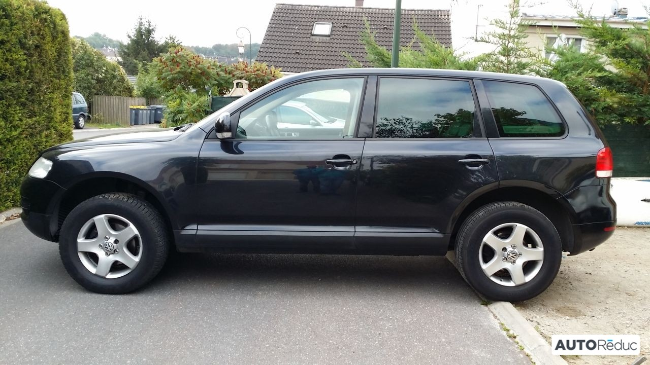 achat volkswagen touareg 2 5 tdi tiptronic 2004 d 39 occasion pas cher 6 900. Black Bedroom Furniture Sets. Home Design Ideas
