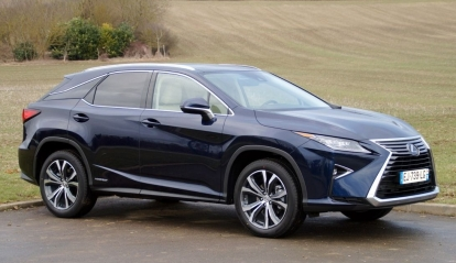 Lexus RX Luxe Pack Techno 2017