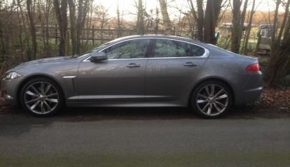 Jaguar XFS D Portfiolio 2013
