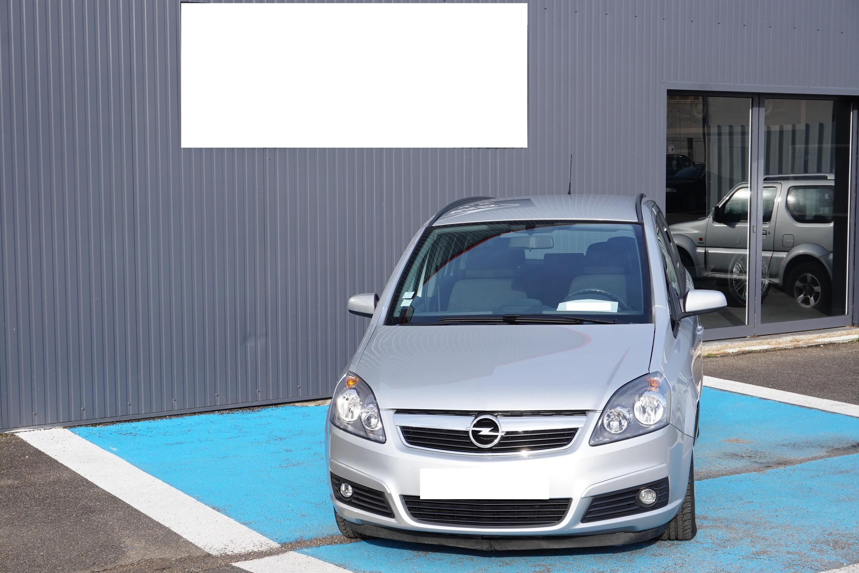 Opel Zafira Diesel Manuelle 2008