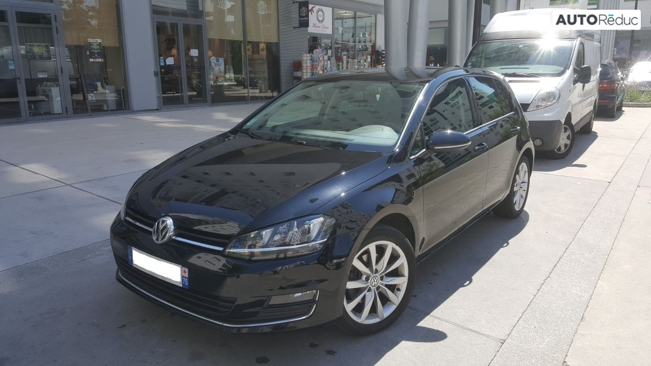 Volkswagen Golf VII 2.0 L TDI CARAT 2014