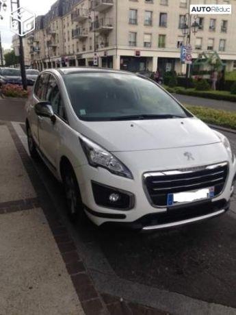 Peugeot 3008 Blanc Blue HDI 2015