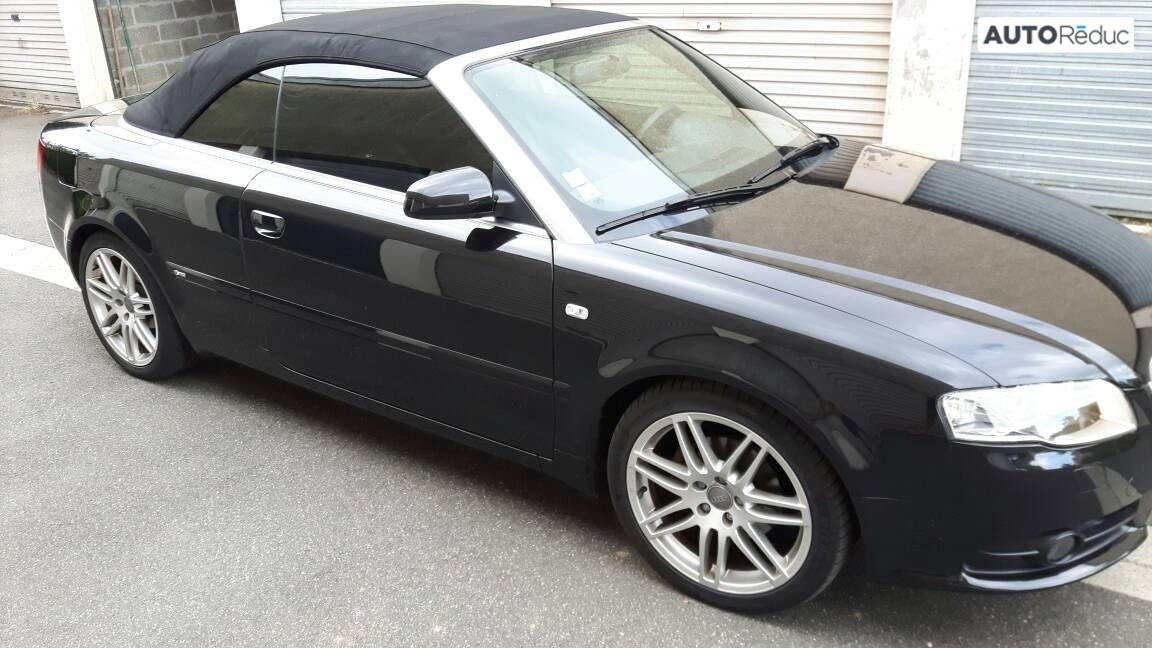 Audi A4 TDI Cabriolet S-line 2008