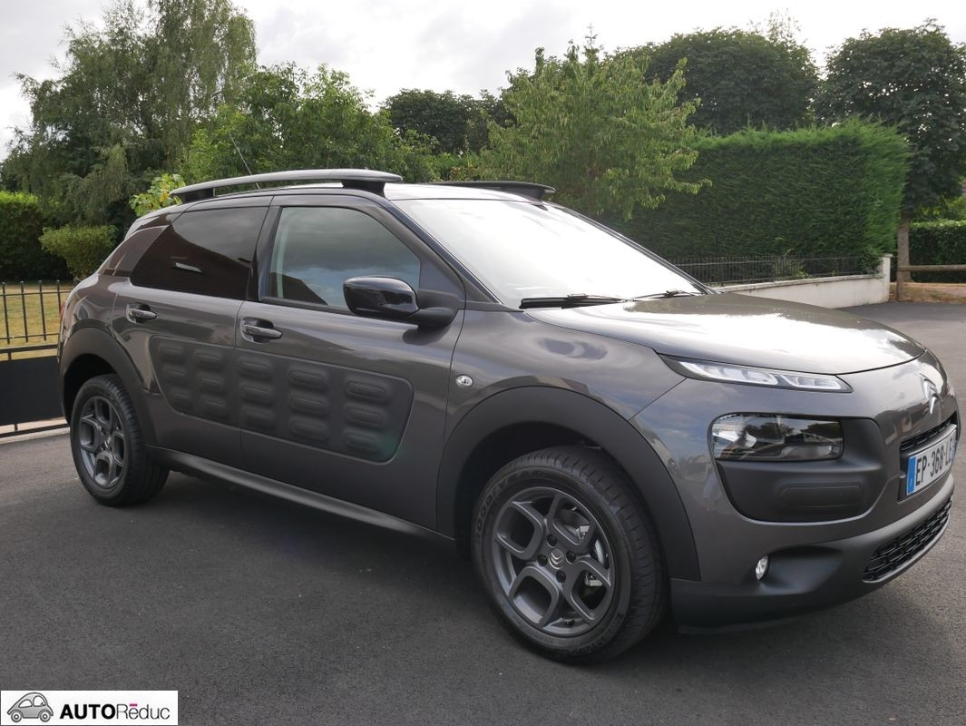 achat citroen c4 cactus 82ch puretech shine d 39 occasion pas. Black Bedroom Furniture Sets. Home Design Ideas