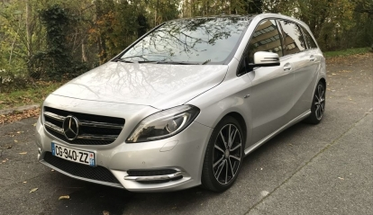 Mercedes-Benz Classe B 200 CDI BlueEFFICIENCY Fascination 7-G DCT A 2012
