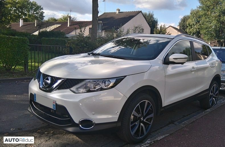 achat nissan qashqai ii 1 2 dig t 115ch tekna xtronic 2016 d 39 occasion pas cher 19 990. Black Bedroom Furniture Sets. Home Design Ideas