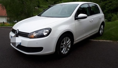 Volkswagen Golf 1.6 TDi Bluemotion 2012
