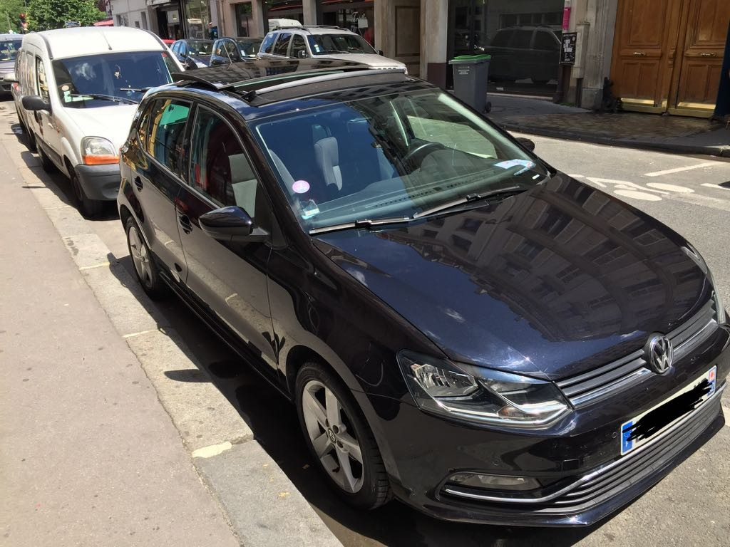 Volkswagen Polo Essence Manuelle 2014 PARIS