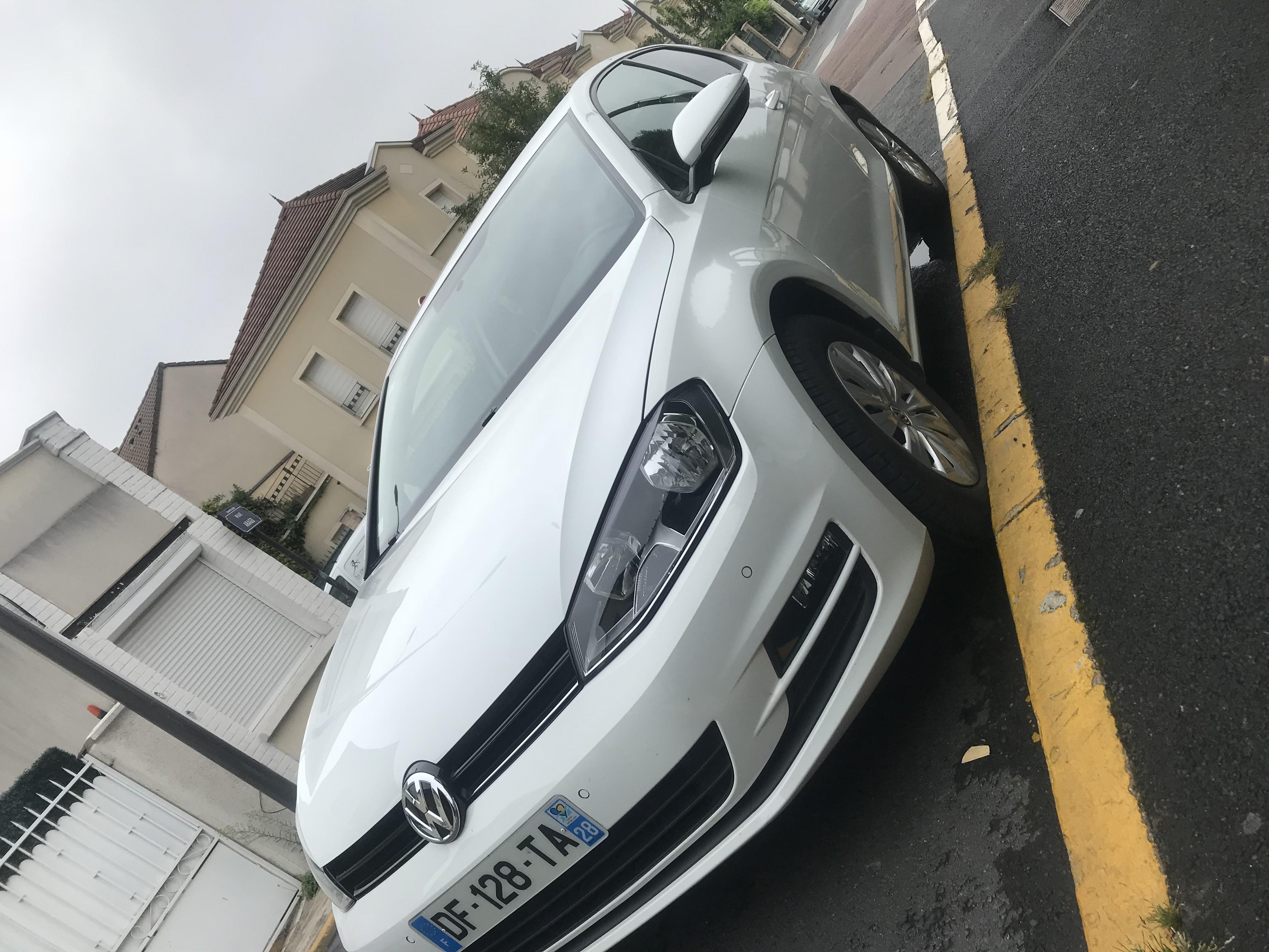 Volkswagen Golf VII Diesel Manuelle 2014 Paris
