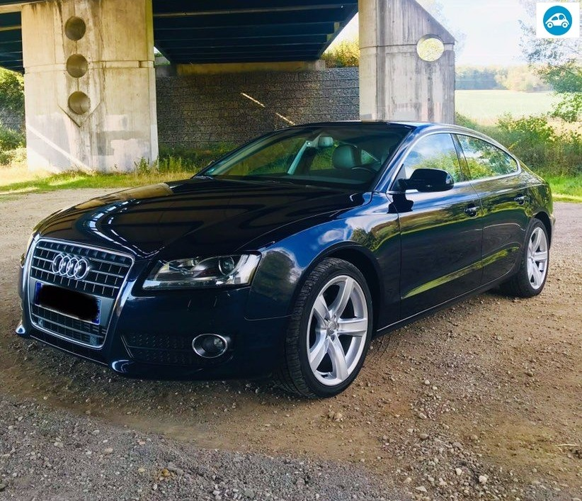 Audi A5 Sportback 2.0 TDI 143Ch Ambition Luxe 2010