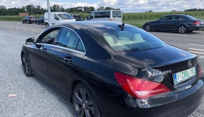 Mercedes cla 220 cdi 2014